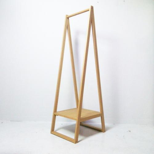 【無印良品】木製 コートハンガー/タモ材 ナチュラル